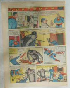 Superman Sunday Page #961 by Wayne Boring from 3/30/1958 Size ~11 x 15 inches