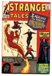 STRANGE TALES #122 comic book JACK KIRBY-HUMAN TORCH-SILVER AGE-MARVEL