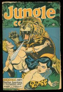 JUNGLE COMICS #96 1947-KAANGA-GOOD GIRL ART-SPICY-TABU G