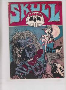 Skull Comics #3 VG- (5th) print - greg irons - richard corben - color error
