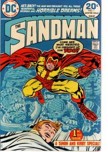 THE SAND MAN (JACK KIRBY) #1 FINE $20.00