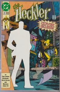 THE HECKLER #2 - BAGGED AND BOARDED - DC COMIC 1992