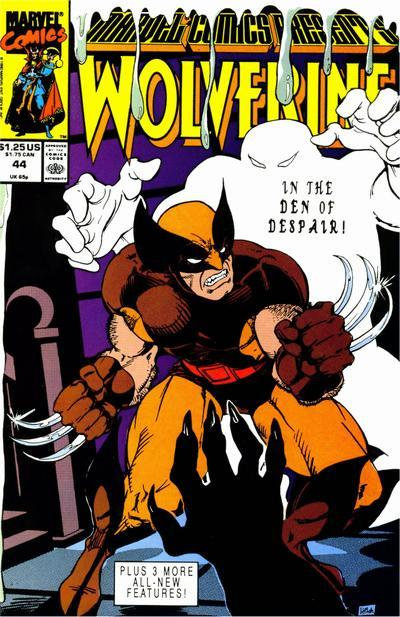 Marvel Comics Presents (1988 series) #44, VF+ (Stock photo)