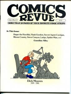 Comics Revue #17-Gasoline Alley-Steve Canyon-Spider-man-Bloom County-VF