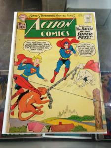 Action Comics 277 GD-/GD (June 1961)