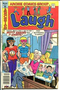 Laugh #345 1979-Archie-Betty-Veronica-nutty clothes-FN