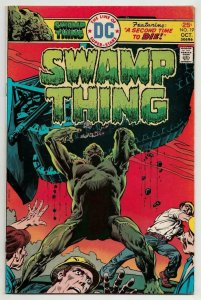 SWAMP THING #19, FN/VF, Horror, 1972 1975, Time to Die, Redondo, more in store