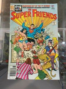 Super Friends 1 VG+ (Needs pressed will Improve)