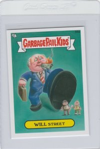 Garbage Pail Kids Will Street 55a GPK 2012 Brand New Series 1 trading card stick