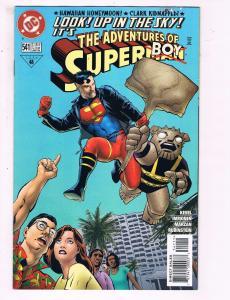 The Adventures Of Superman #541 VF DC Comics Comic Book Superboy 1994 DE11