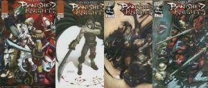 BANISHED KNIGHTS (2001 IM/DW) 1-4  Warlands' vampires