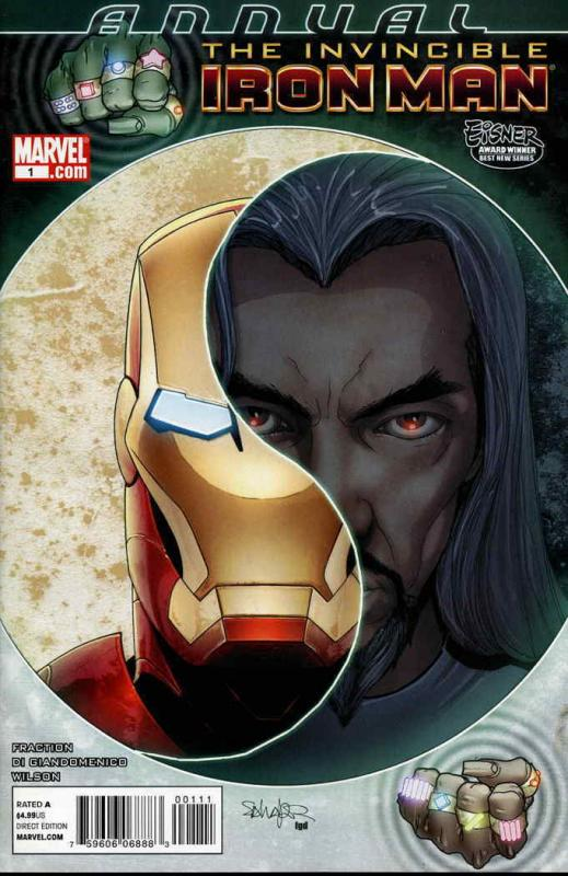 Invincible Iron Man Annual #1 VF/NM; Marvel | save on shipping - details inside