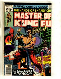 10 Master of Kung Fu Marvel Comics # 64 65 67 68 69 70 71 72 79 89 WS6