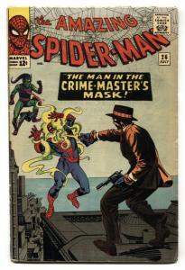 AMAZING SPIDER-MAN #26 comic book-1965-MARVEL-STEVE DITKO FN-