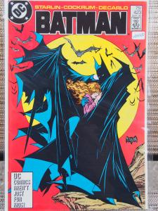 Batman 423 in VF  condition.Unread. 1988. 2nd Printing . Signed by Jim Starlin!