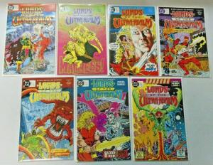 Lords of the Ultra Realm set #1 to #6 + Special 7 different books 8.0 VF (1986)