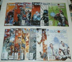 Cyborg (V1, 2015) #1-12, DC Special #2.3, Secret Origins #5 (set of 15) Reis