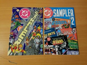 DC Sampler 1-2 Complete Set Run! ~ NEAR MINT NM ~ 1983 DC Comics