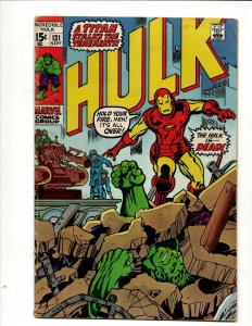 Incredible Hulk # 131 FN Marvel Comic Book Iron Man Captain America Thor BJ1