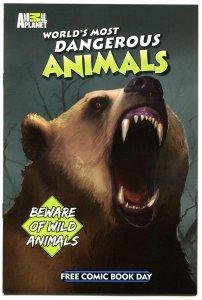 WORLD'S MOST DANGEROUS ANIMALS, NM, FCBD, Grizzly Bear, Crocodile,  2012