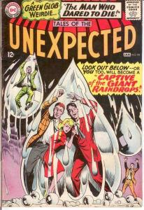 UNEXPECTED (TALES OF) 92 VG  January 1966