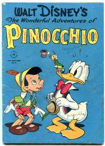 Adventures of Pinocchio-Four Color Comics #92- Donald Duck VG