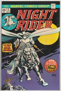 Night Rider, The #4 (Apr-75) VF/NM High-Grade Ghost Rider