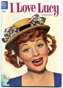 I LOVE LUCY #5-1955-PHOTO COVER-VG