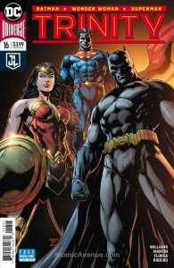 Trinity (2nd Series) #16A VF; DC | save on shipping - details inside