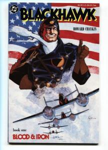 BLACKHAWK #1-1987-HOWARD CHAYKIN.-comic book DC NM