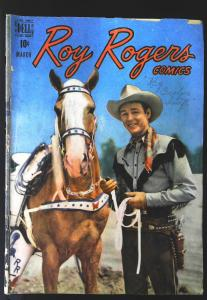 Roy Rogers Comics (1948 series) #15, VG- (Actual scan)