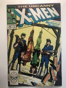 X-Men #236 FN  ( 1st Appearance of David Moreau; Versus Genoshan magistrates