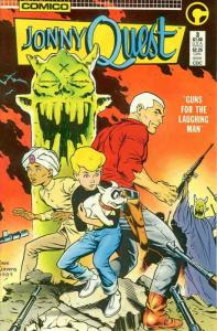 Jonny Quest (Comico) #3 FN; COMICO | save on shipping - details inside