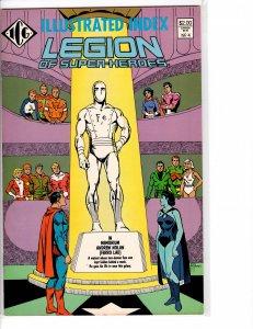 Illustrated Index Legion of Superheroes #4 VF+ (8.5)