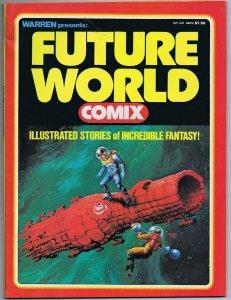 ORIGINAL Vintage September 1978 Warren Future World Comix #1