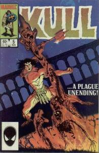 Kull the Conqueror (1983 series) #5, VF (Stock photo)