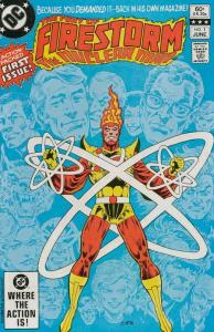 Fury of Firestorm, The #1 VF/NM; DC | save on shipping - details inside