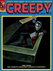 Creepy (1964 series) #47, Fine (Stock photo)