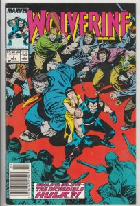 Wolverine #7 (May-89) NM- High-Grade Wolverine