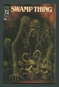 Swamp Thing #88  (2nd Series) 9.0 VFN/NM September 1989