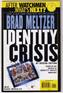 Identity Crisis   #1 Special Edition FN