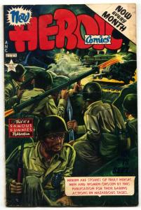 Heroic #75 1952-Korean War-Bazooka cover- Frazetta VG