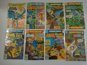 Brave and the Bold lot 47 different from #150-199 8.0 VF (1979-83)