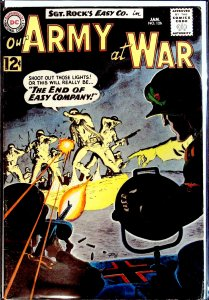 Our Army at War #126 (1963) Intro of Canary