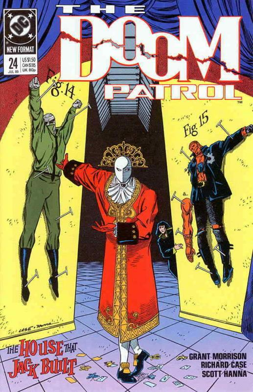 2nd Series 8.0//VF 1987 #1 Doom Patrol