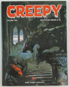 Creepy Archives Vol. 2 HC 1st print Dark Horse Frank Frazetta Steve Ditko #6-10