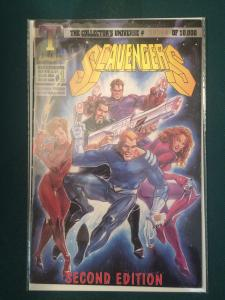 Scavengers #1 book #08984 of 10,000 printed