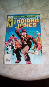 INDIANA JONES: THE FURTHER ADVENTURES OF  #1 VG 4.0 (LOWEST PRICED ON eBay)