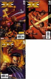 ULTIMATE X MEN (2001-2009) 72-74  Magical 3part story
