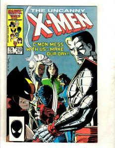 (Uncanny) X-Men # 210 NM- Marvel Comic Book Cyclops Beast Iceman Wolverine GK4